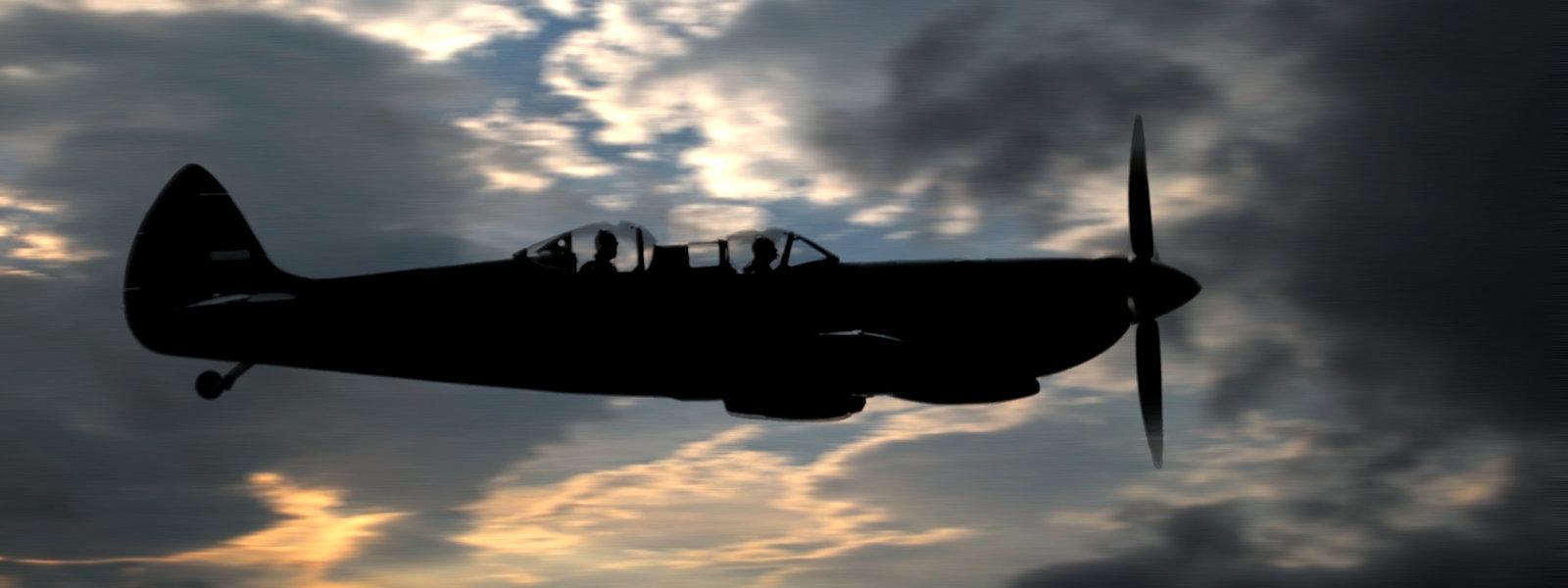 """""""Dusk Patrol"""", RAF Duxford, UK"""