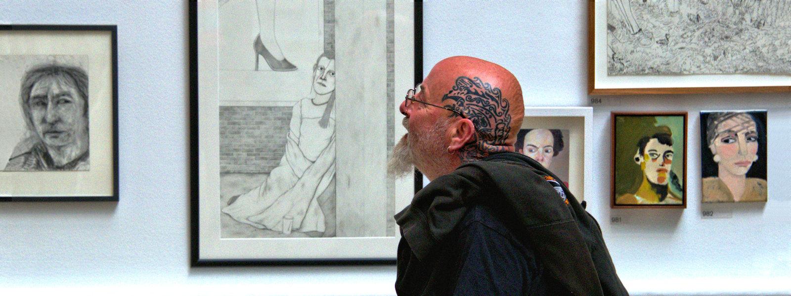 """Life Imitating Art"", Summer Exhibition, Royal Academy of Art, London, UK"