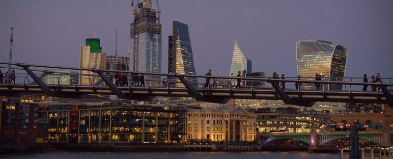 Sunset, London, UK