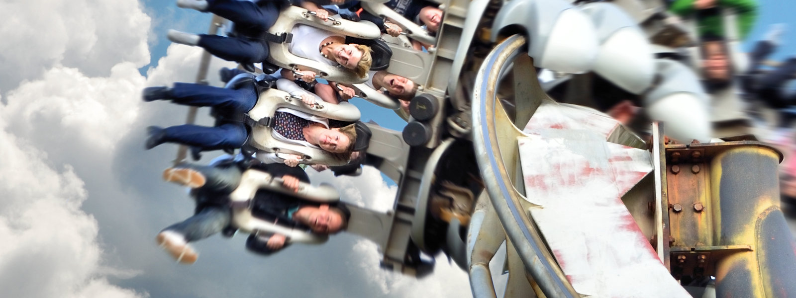"""Poetry In Motion"", Nemesis Ride, Alton Towers Resort, Staffordshire, UK"