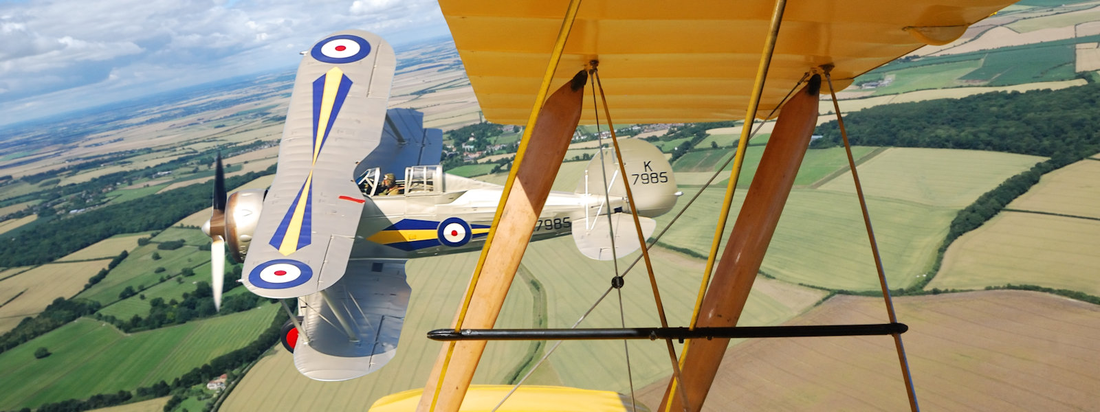 """""""Those Magnificent Men In Their Flying Machines"""", RAF Duxford, UK"""